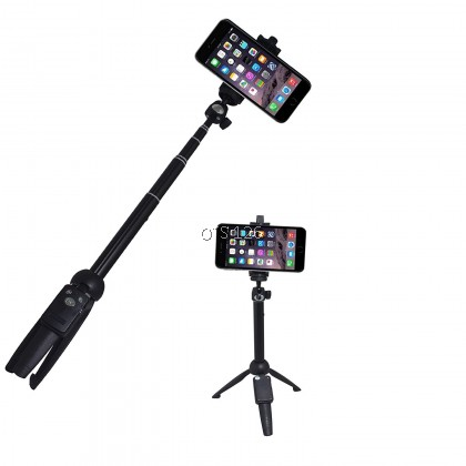 YUNTENG Extendable Selfie Stick Mini Selfie Tripod With Remote Control YT-9928