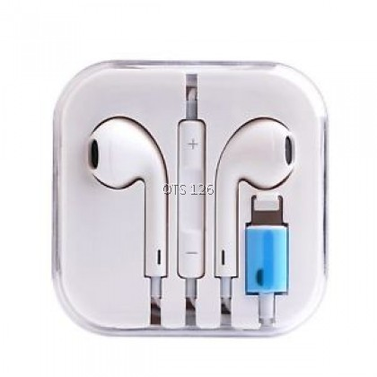 Wired Earphones Bluetooth Mic Stereo Headset For IPhone Earpod