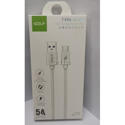 Golf 5A Fast Charging Data Cable USB For Micro / Lightning GC-77